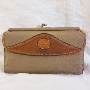 Dooney & Bourke Leather Wallet Distressed